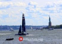 SailGP 2019 se Celebró en la Bahía del Hudson en la Ciudad de New York_15