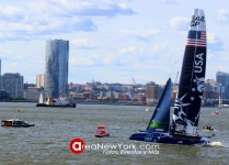 SailGP 2019 se Celebró en la Bahía del Hudson en la Ciudad de New York_25