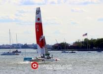 SailGP 2019 se Celebró en la Bahía del Hudson en la Ciudad de New York_31