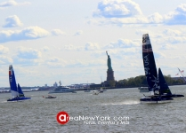SailGP 2019 se Celebró en la Bahía del Hudson en la Ciudad de New York_35