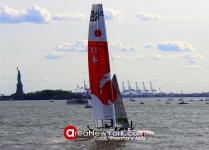 SailGP 2019 se Celebró en la Bahía del Hudson en la Ciudad de New York_39