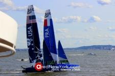 SailGP 2019 se Celebró en la Bahía del Hudson en la Ciudad de New York_40