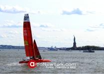 SailGP 2019 se Celebró en la Bahía del Hudson en la Ciudad de New York_43