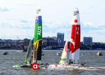 SailGP 2019 se Celebró en la Bahía del Hudson en la Ciudad de New York_51