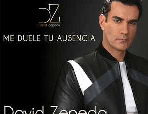 "David Zepeda lanza bachata ""Me Duele Tu Ausencia"""