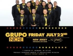 Grupo Niche en Newark, New Jersey.